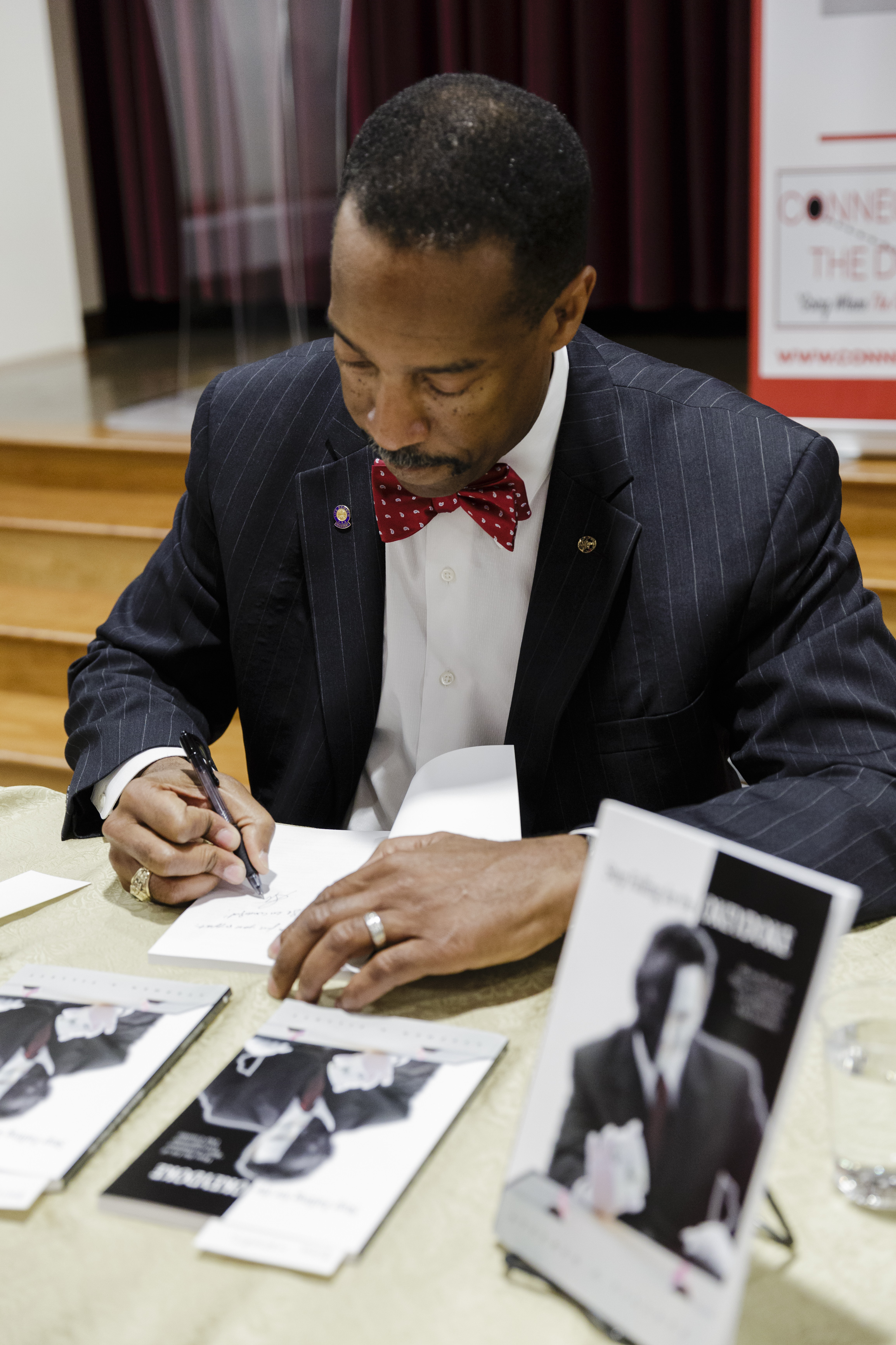 Book signing in Washington, DC July 2017